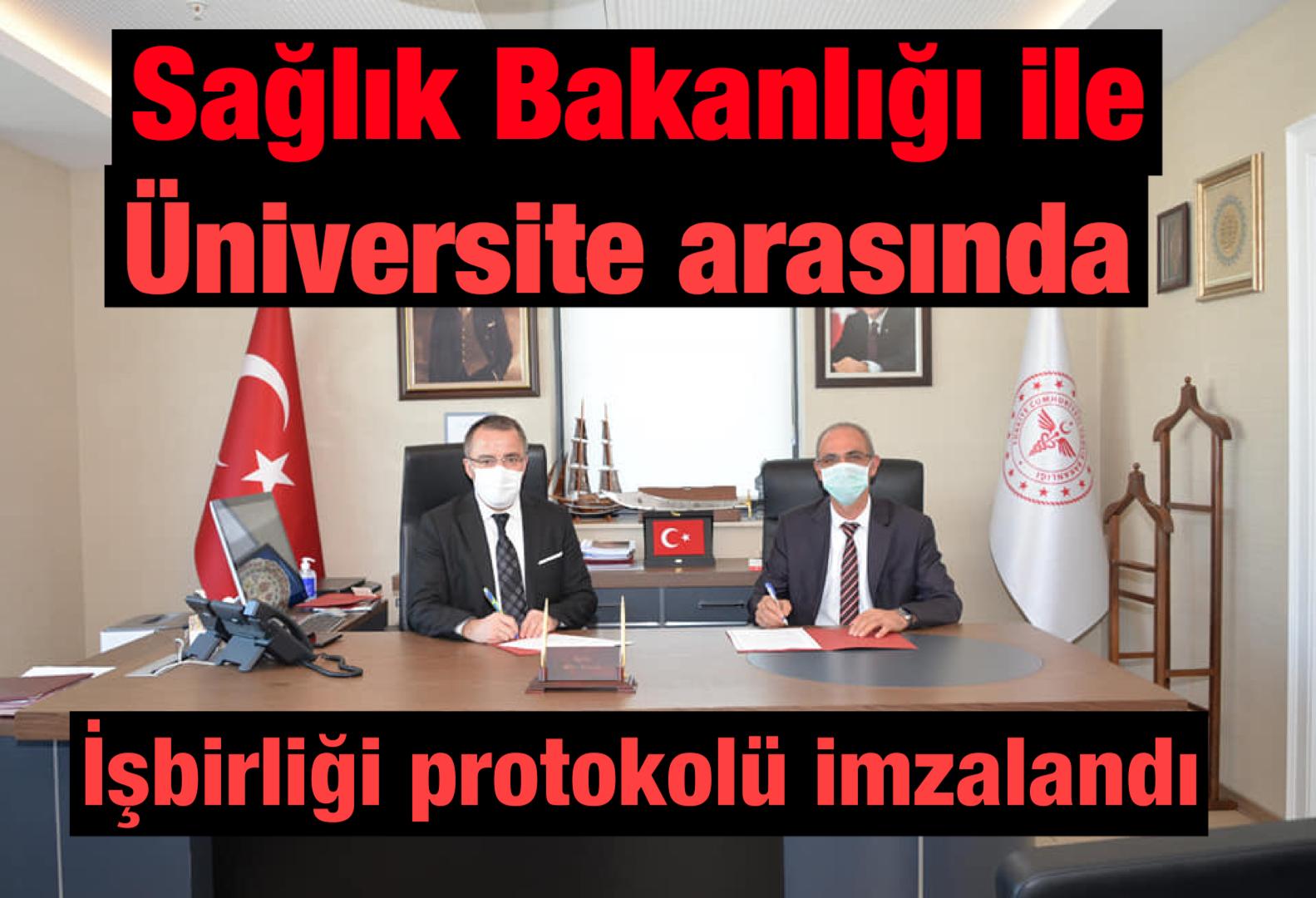 Sağlık Bakanlığı ile Üniversite İş Birliği Protokolü İmzaladı