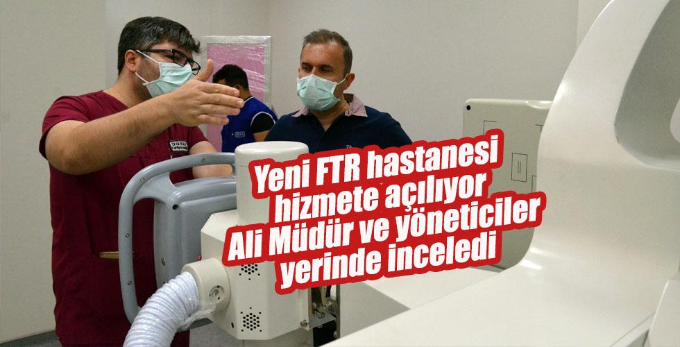 FTR Hastanesi açılıyor