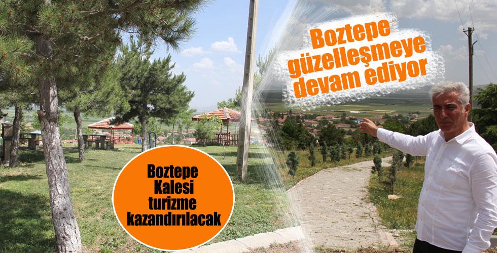 Boztepe Kalesi Turizme kazandırılıyor