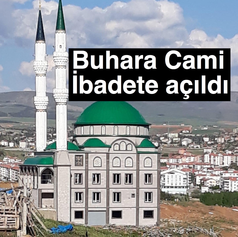 Buhara Cami ibadete açıldı