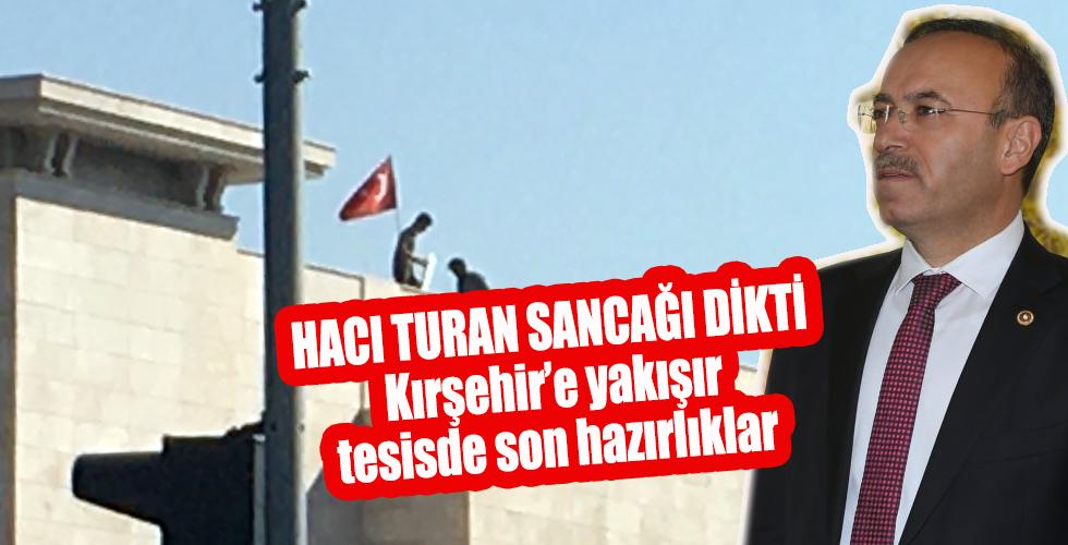 Kırşehir'e yakışır tesis de son hazırlıklar devam ediyor