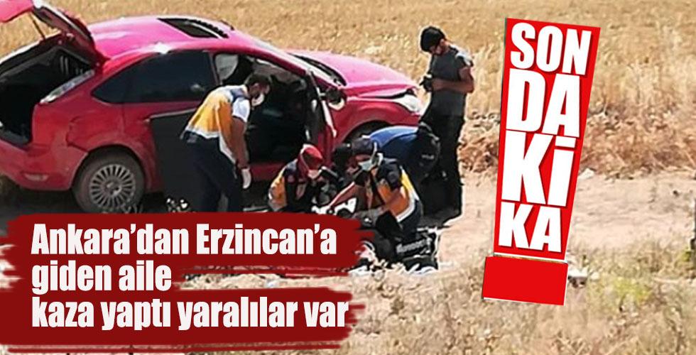 Kırşehir-Nevşehir il sınırında kaza