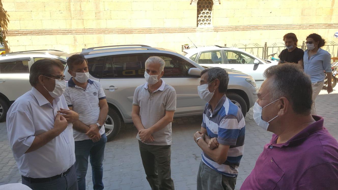 Kırşehir'de Pandemi bilgilendirmesi