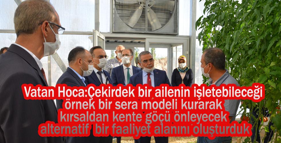 Türk Şeker Genel Müdürü Alkan Rektör Karakaya'yı ziyaret etti