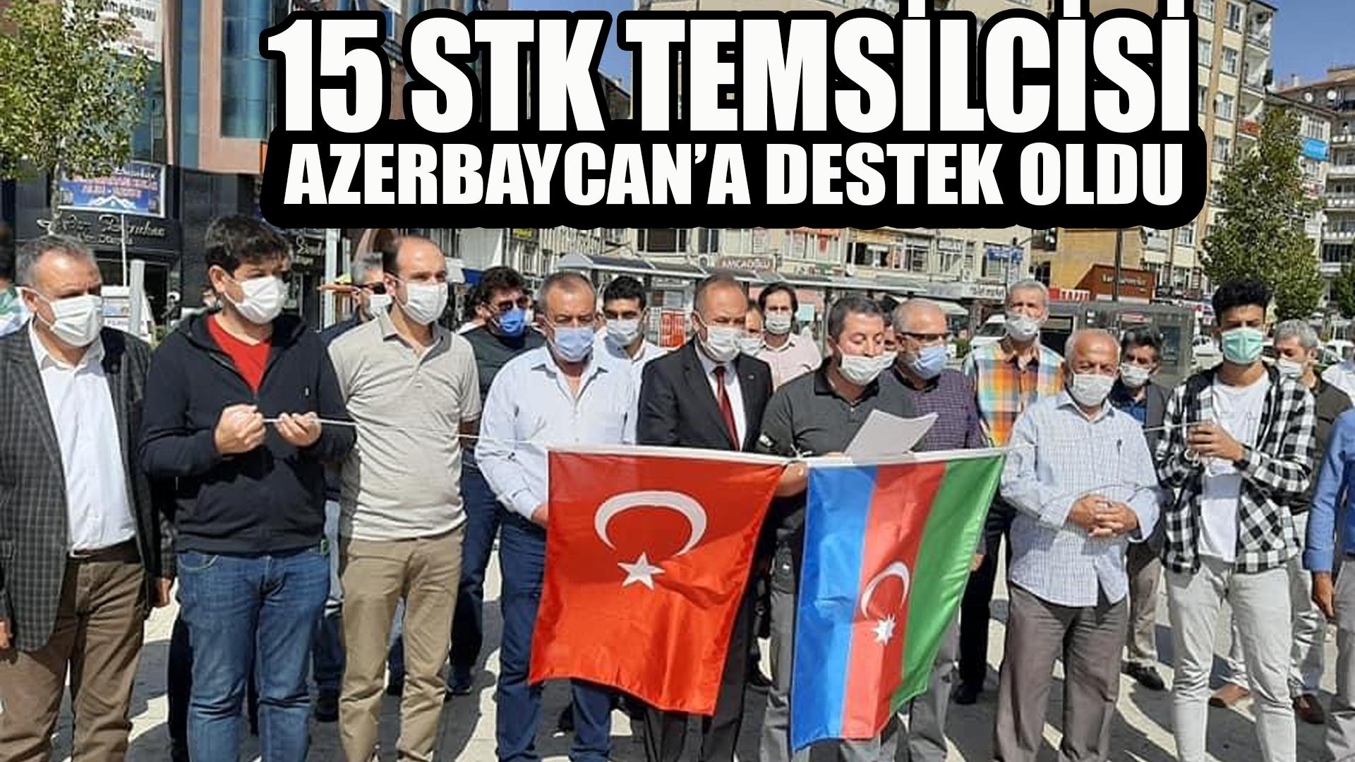 15 STK Azerbaycan için destek açıklaması yaptı