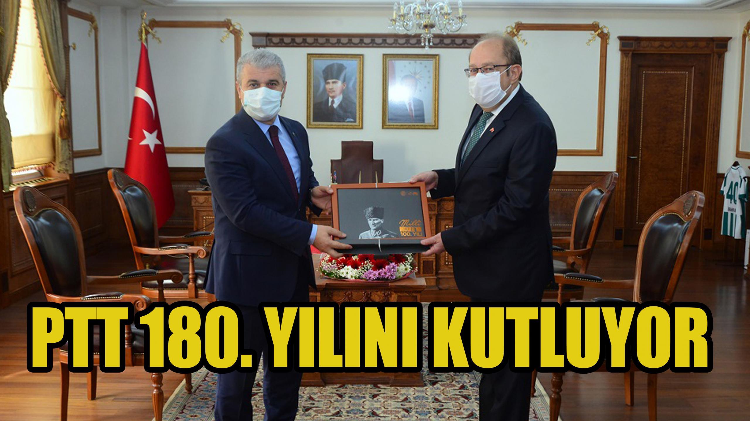 PTT 180. Yılını Kutluyor