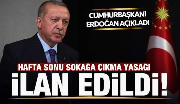 Cumhurbaşkanı Erdoğan tarafından yeni kararlar açıklandı