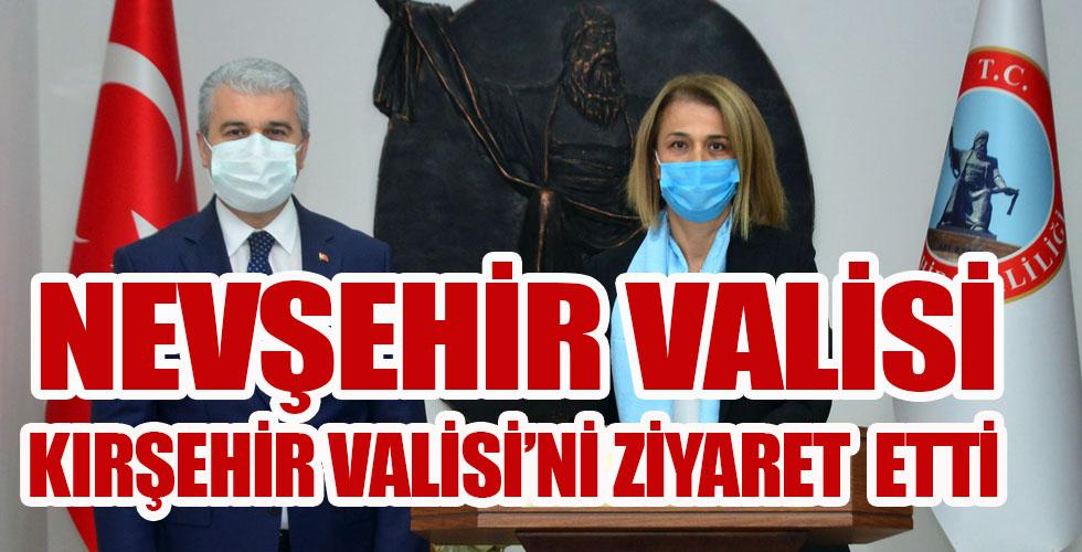 Nevşehir Valisi Becel'den Vali Akın'a ziyaret
