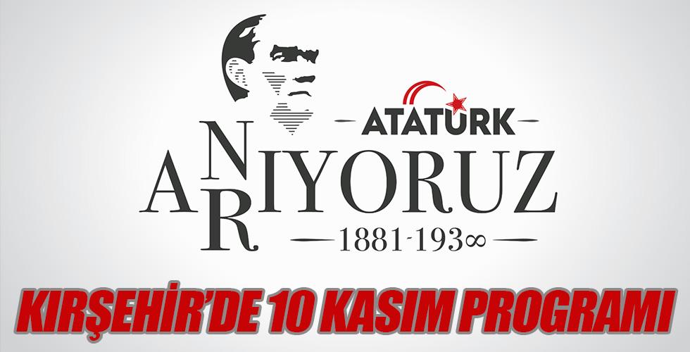 Kırşehir'de 10 Kasım Programı