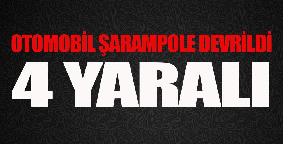Kırşehir'de kaza: 4 yaralı
