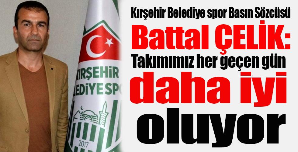 Kırşehir Belediyespor Basın Sözcüsü Battal Çelik