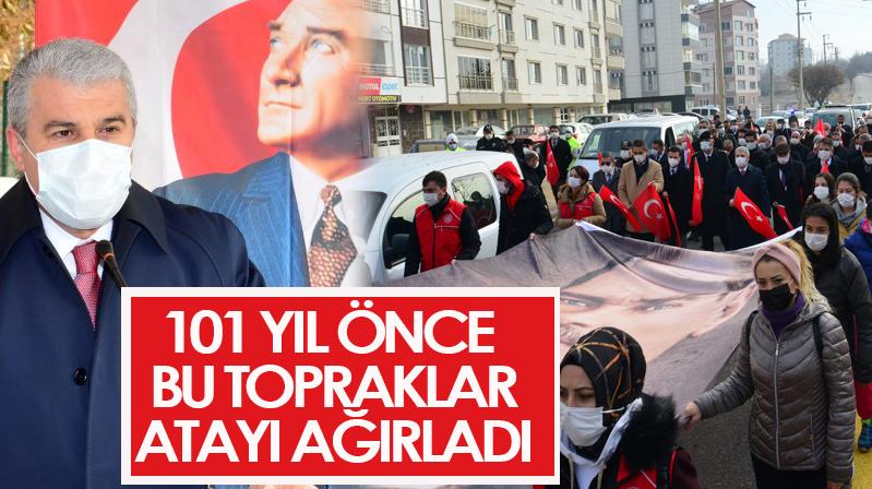 Atatürk'ün ilimize gelişinin 101. yıldönümü