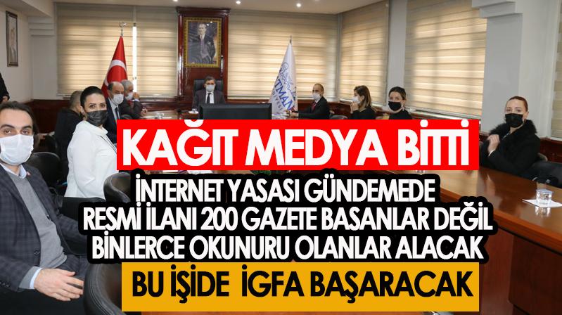 Güneydoğu ve İç Anadolu'dan İGFA'ya tam destek