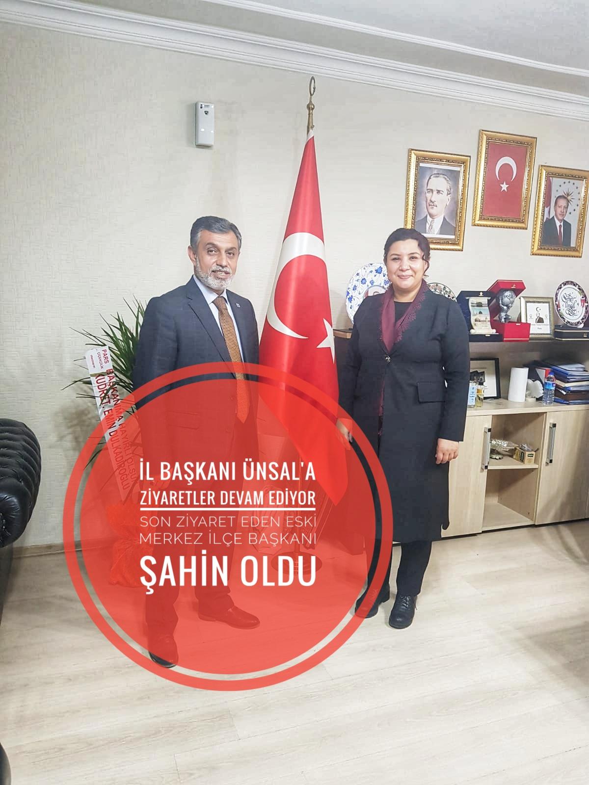 İl Başkanı Ünsal'a ziyaretler devam ediyor