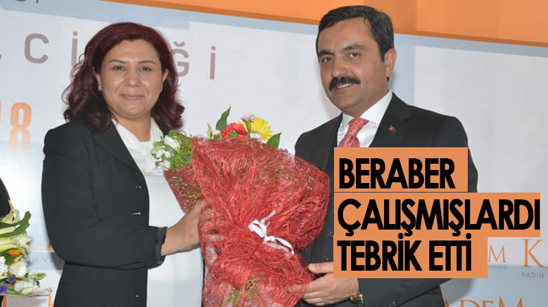 Yaşar Bahçeci, Ünsal'ı tebrik etti