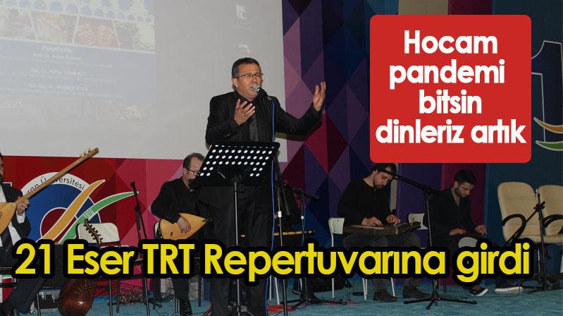 21 Eser TRT Repertuvarına girdi