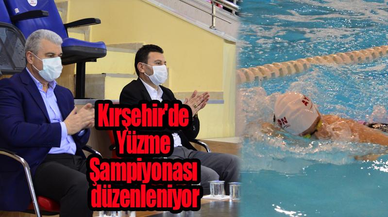 Kırşehir'de Yüzme Şampiyonası düzenleniyor