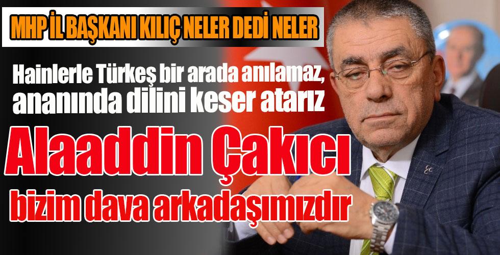 MHP İl Başkanı Kılıç açıklama yaptı