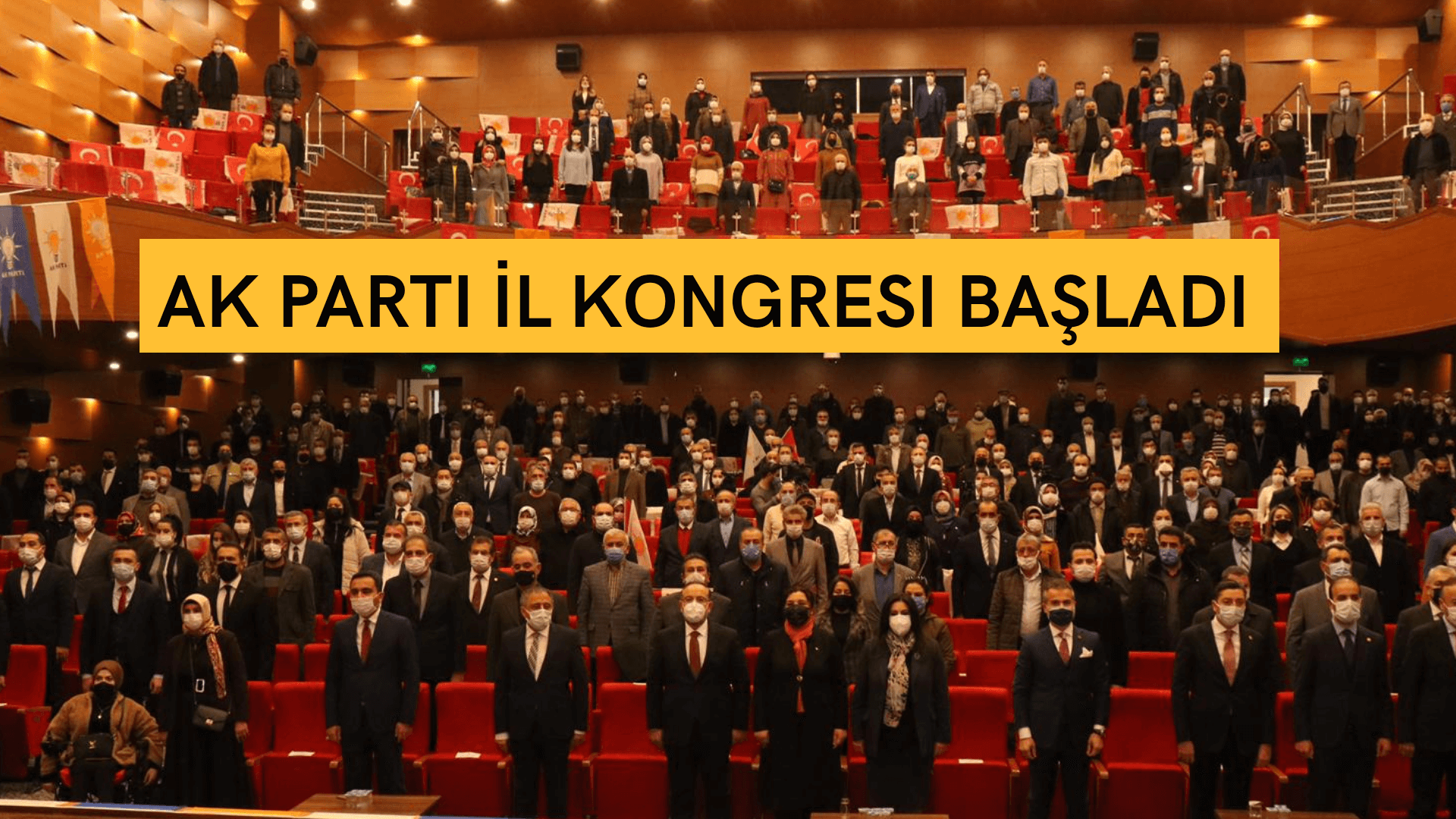 AK Parti Kırşehir İl Başkanlığı Kongresi başladı