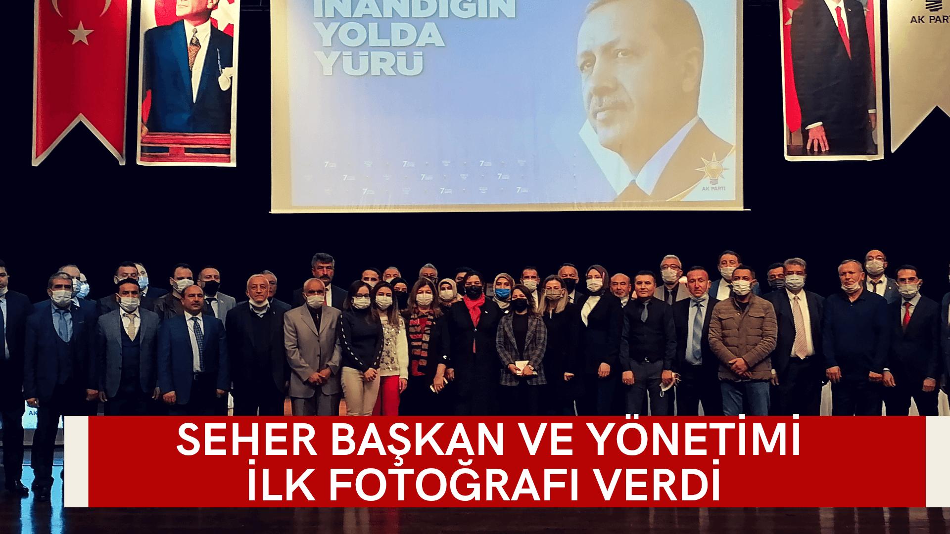 Seher Başkan yönetimiyle ilk fotoğrafı verdi