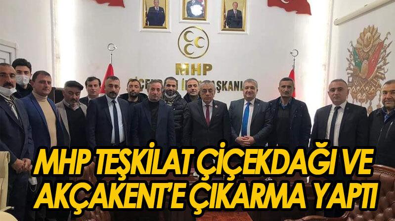 MHP'de Çiçekdağı ve Akçakent çıkarması