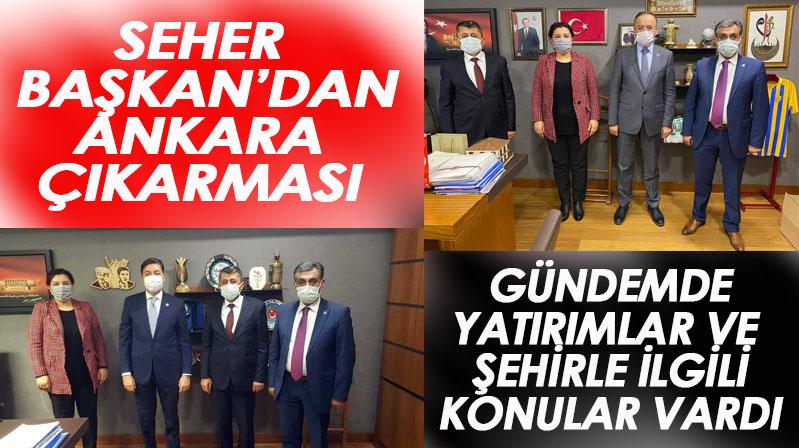 Seher Başkan'dan Ankara çıkarması
