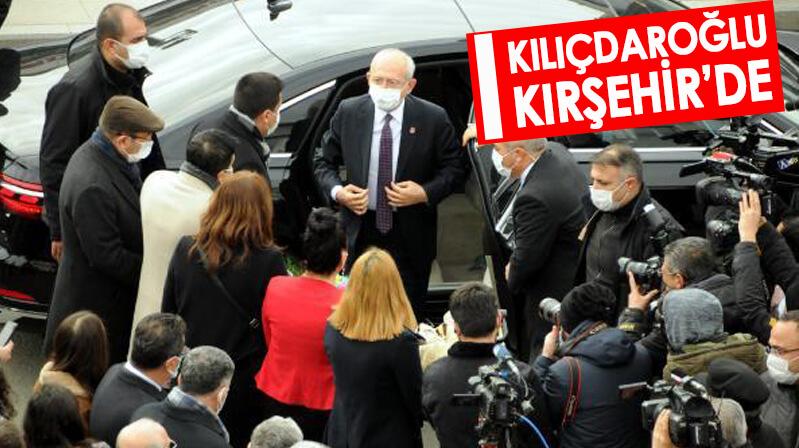 Kılıçdaroğlu Kırşehir'de