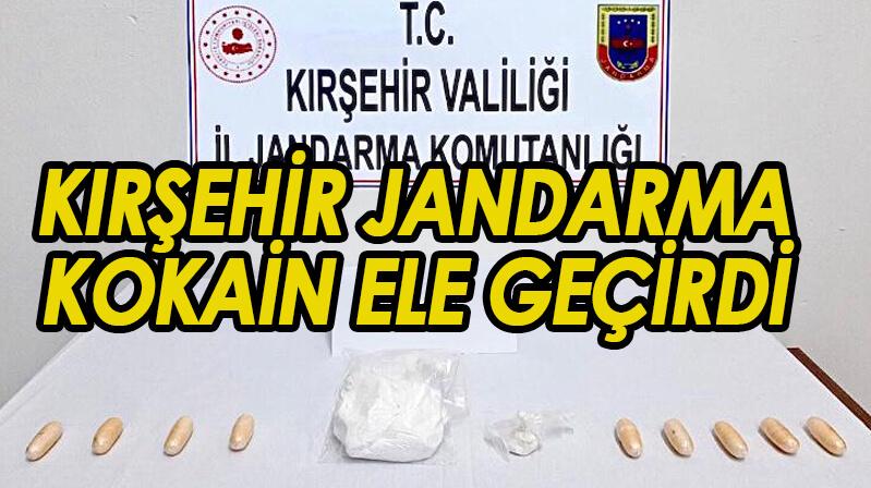 Jandarma kokain ele geçirdi
