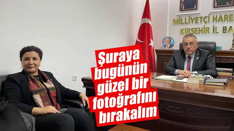 AK Parti İl Başkanı Ünsal'dan MHP İl Başkanı Kılıç'a ziyaret