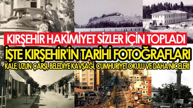İşte Kırşehir'in yıllar önceki hali