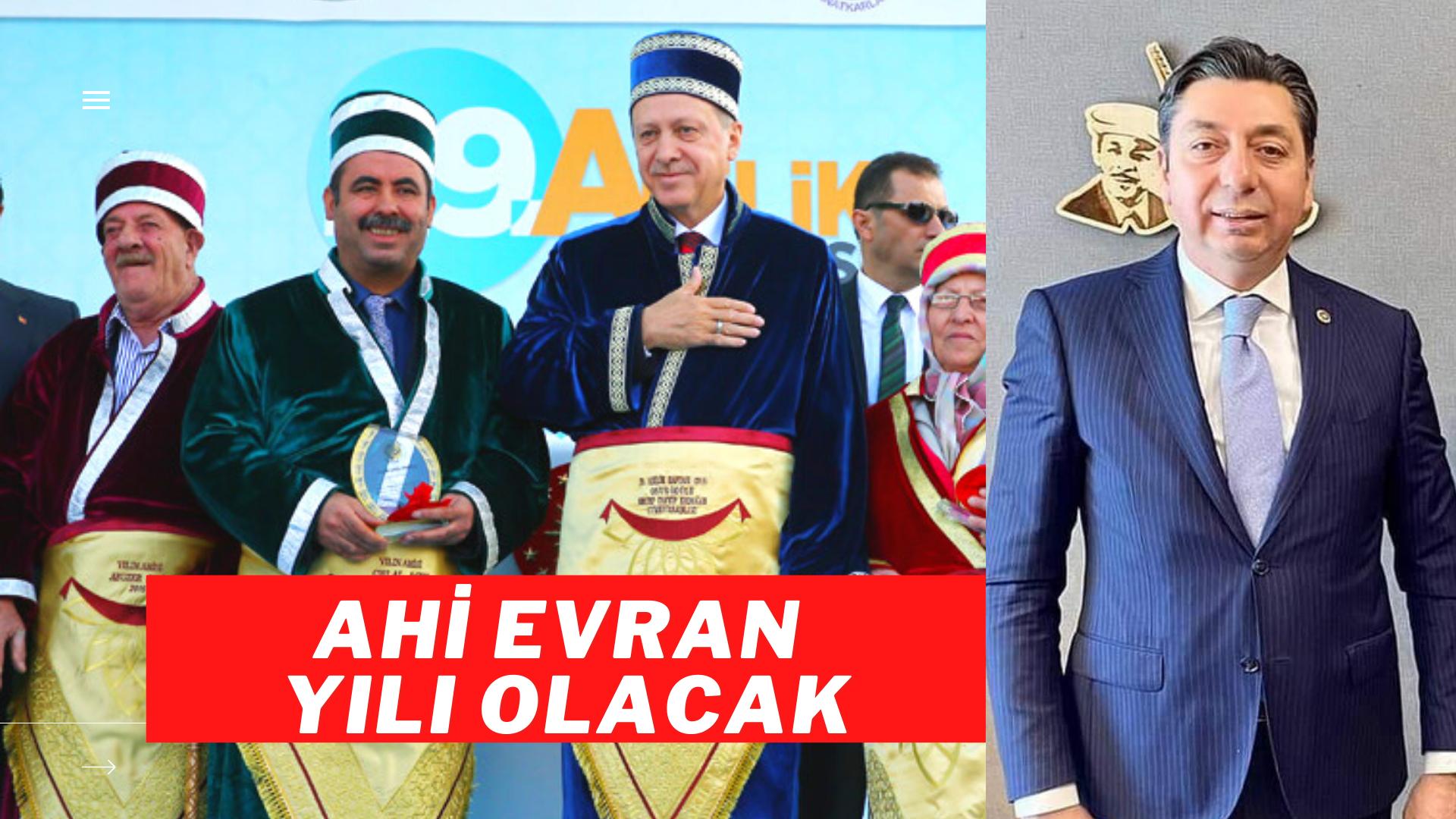 """2021 AHİ EVRAN YILI"""