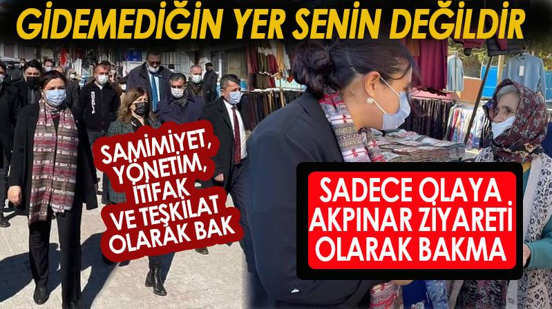 AK Parti Kırşehir İl Başkanı Seher Ünsal Akpınar ilçesini ziyaret etti