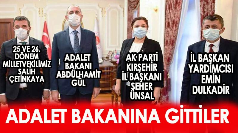 Seher Başkan, Adalet Bakanı Gül ile görüştü