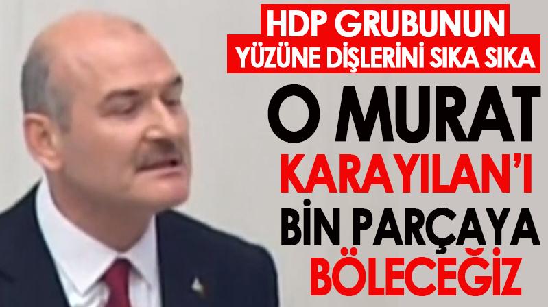 Soylu: Murat Karayılan'ı bin parçaya böleceğiz