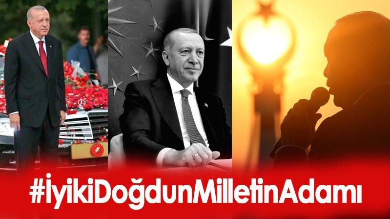 Erdoğan, bugün itibarıyla 67 yaşına girdi