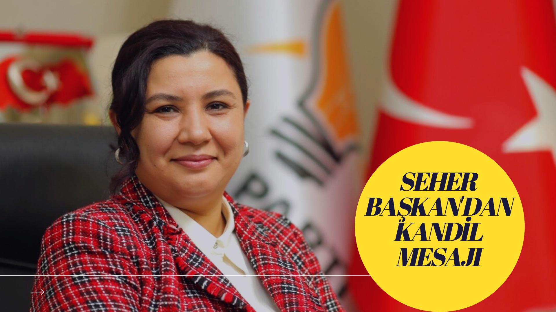 AK Parti Kırşehir İl Başkanı  Ünsal'ın Miraç Kandili Mesajı