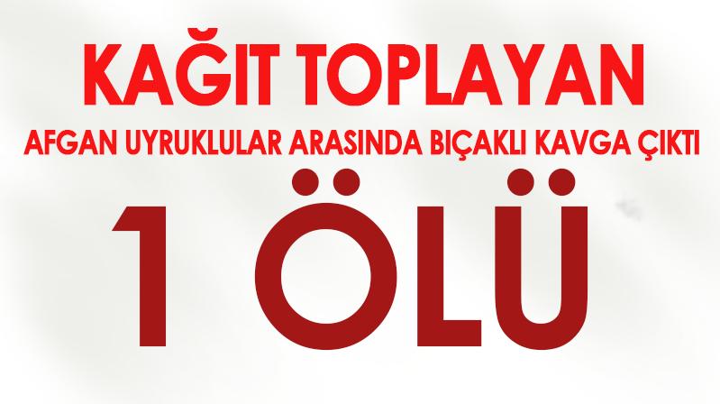 Kırşehir'de bıçaklı kavga 1 ölü