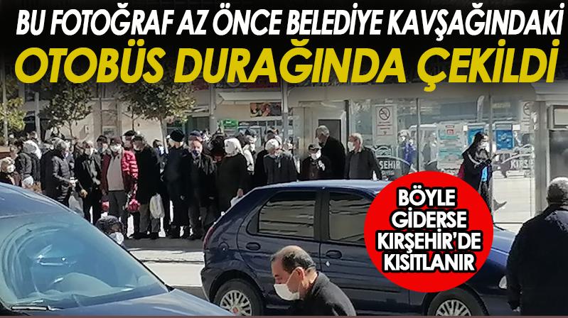 Böyle giderse Kırşehir'de kısıtlanır