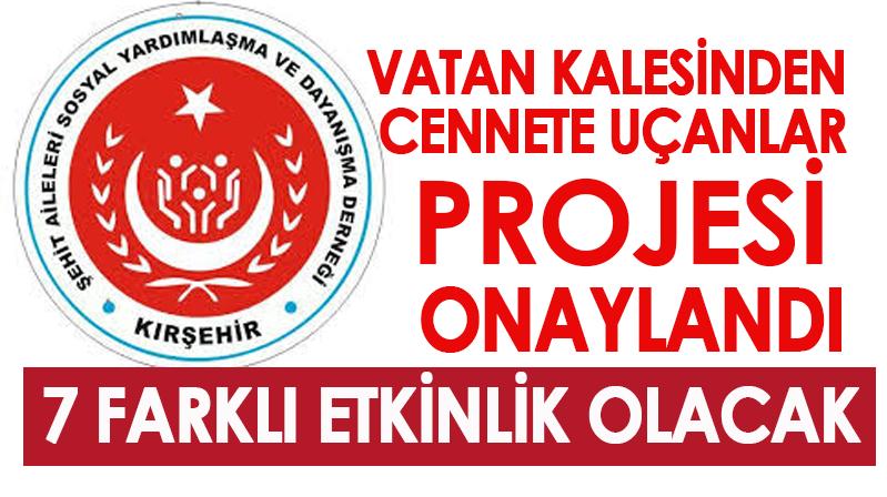 """""""VATAN KALESİNDEN CENNETE UÇANLAR"""" projesi onaylandı"""
