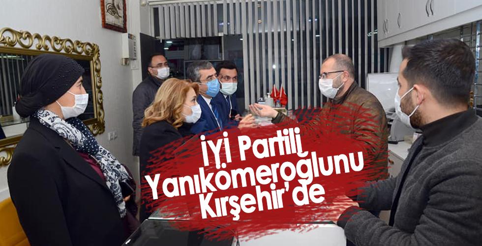 İYİ Parti Genel Başkan Yardımcısı Kırşehir'de
