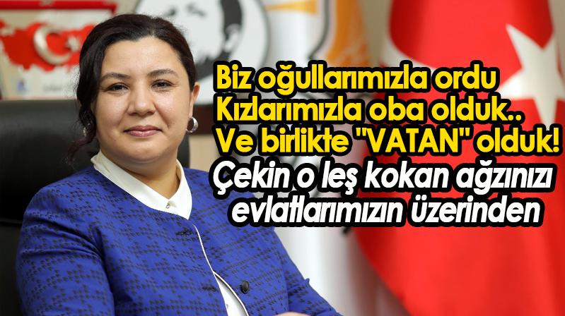 AK Parti Kırşehir İl Başkanı Seher Ünsal'dan Mine Söğüt'e Tepki