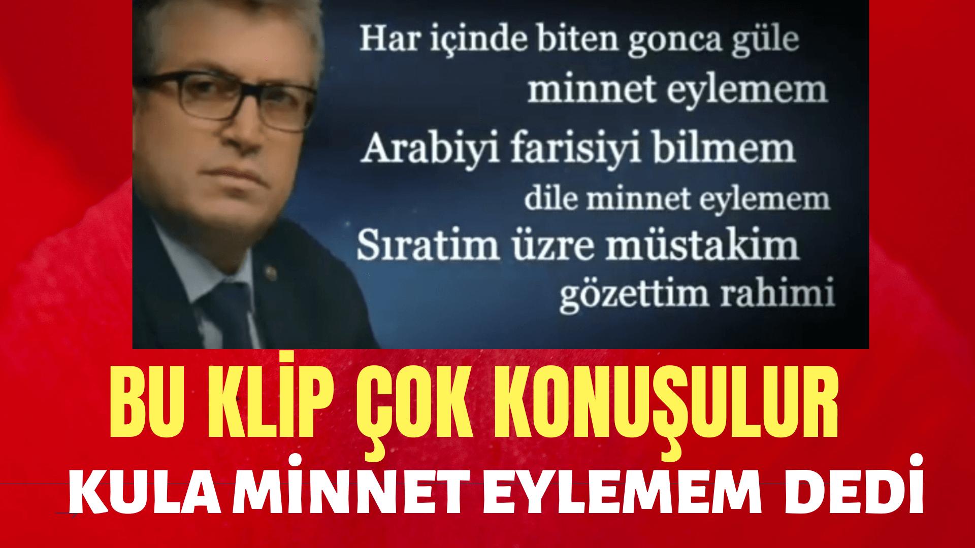 Asaf Kayaoğlu:Kula Minnet eylemem
