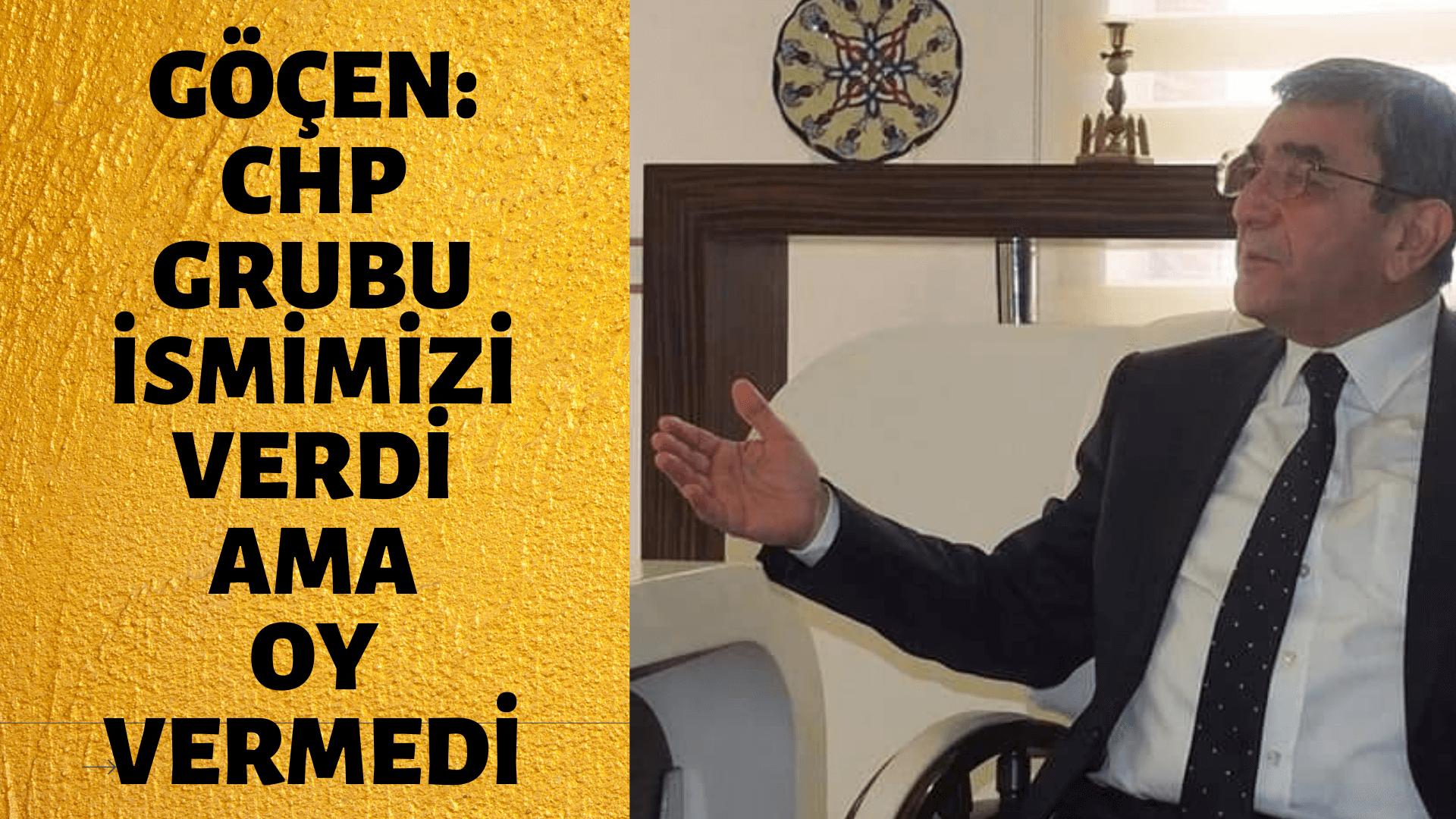 İYİ Parti İl Başkanı Göçen, Belediye meclis seçimiyle ilgili konuştu