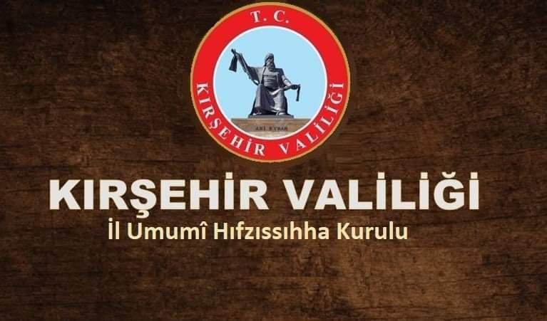 Kırşehir Valiliği kararları