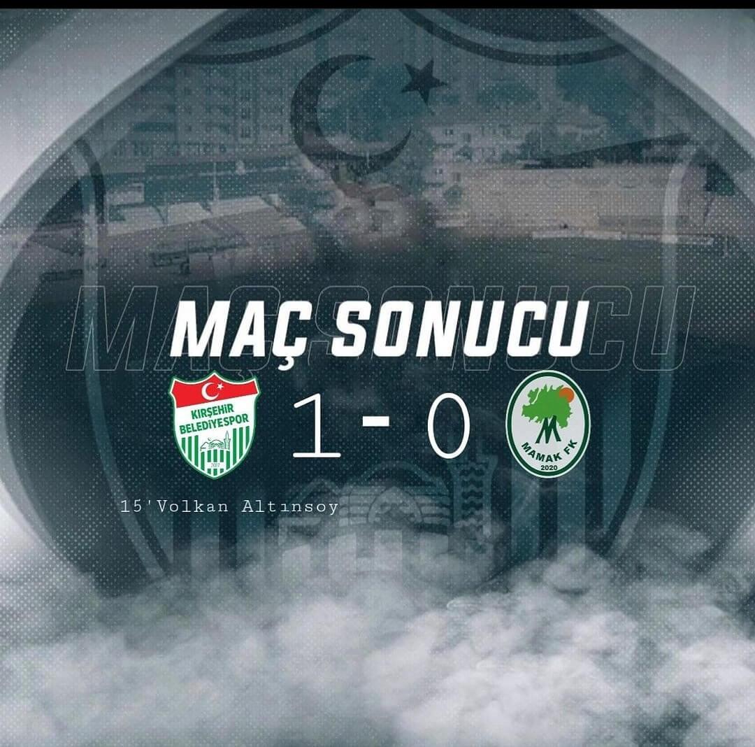 Kırşehir Belediyespor yendi