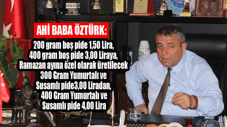 Kırşehir'de Ramazan pidesinin fiyatı belli oldu…