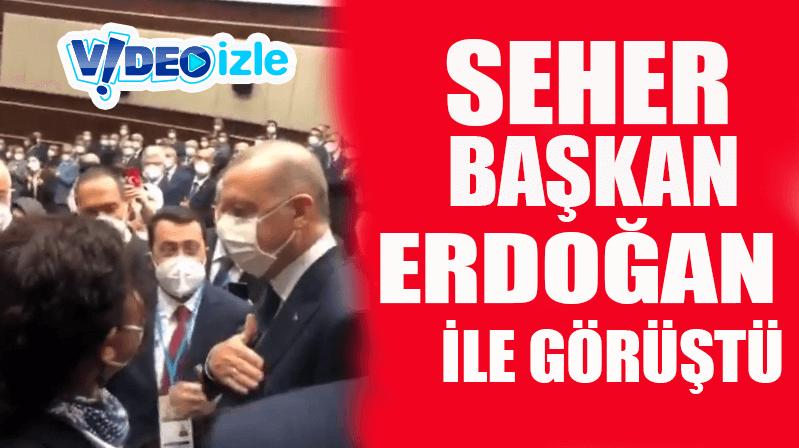 Seher Başkan, Erdoğan'a Kırşehir'den selam götürdü