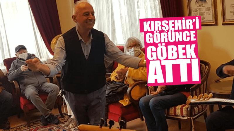 Kırşehir'e 2021 'in İlk Turist Kafilesi Antalya'da yaşayan Almanlar…