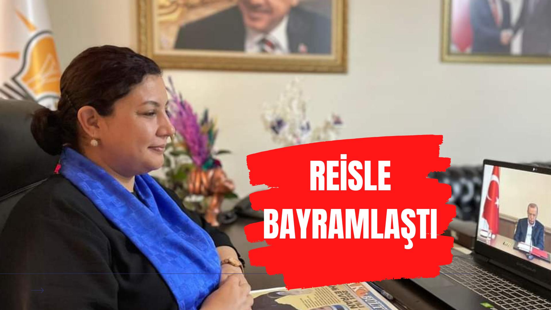 Seher Başkan Cumhurbaşkanı Erdoğan ile bayramlaştı