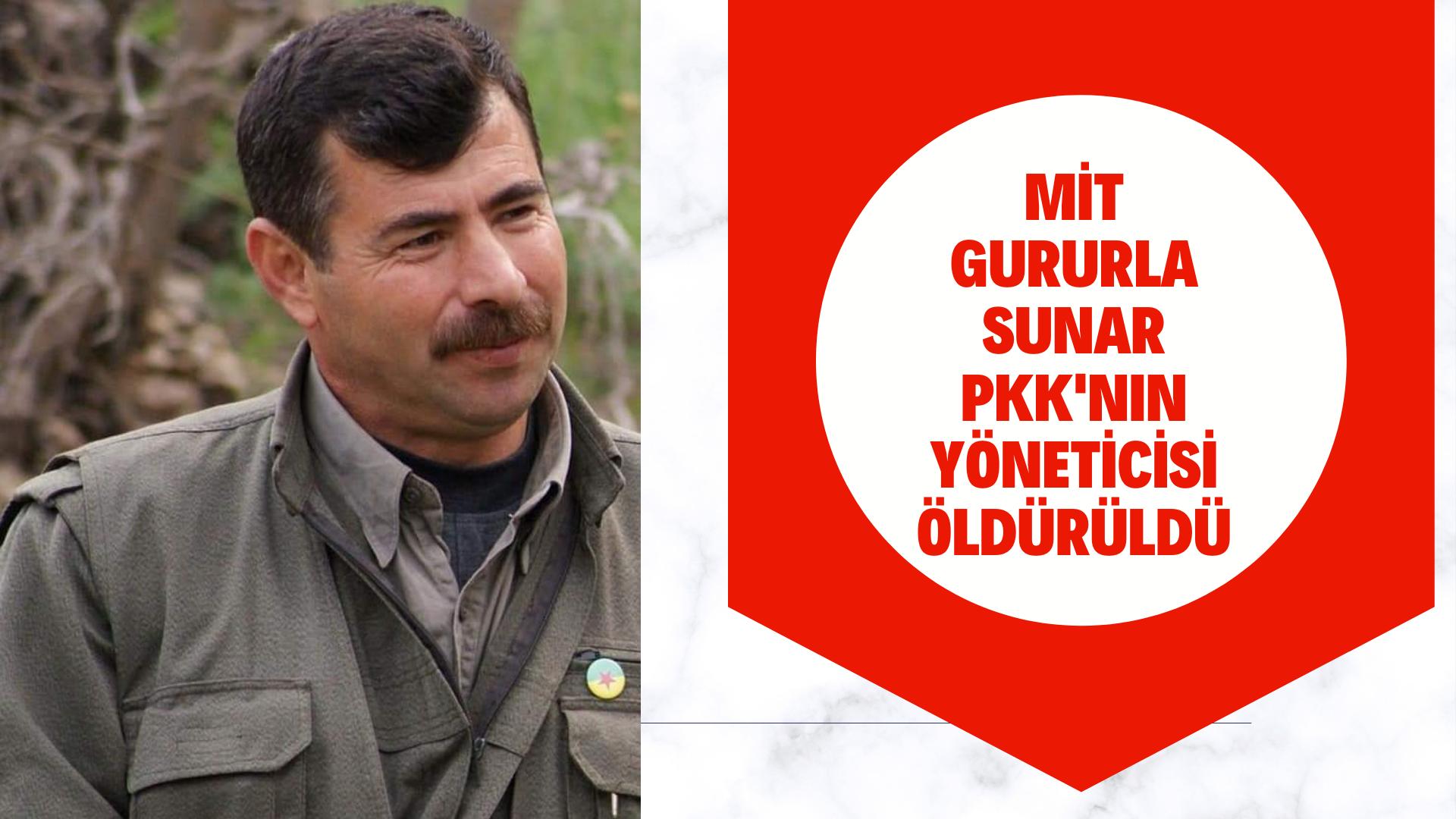 Son Dakika PKK'nın üst düzey yöneticisi öldürüldü